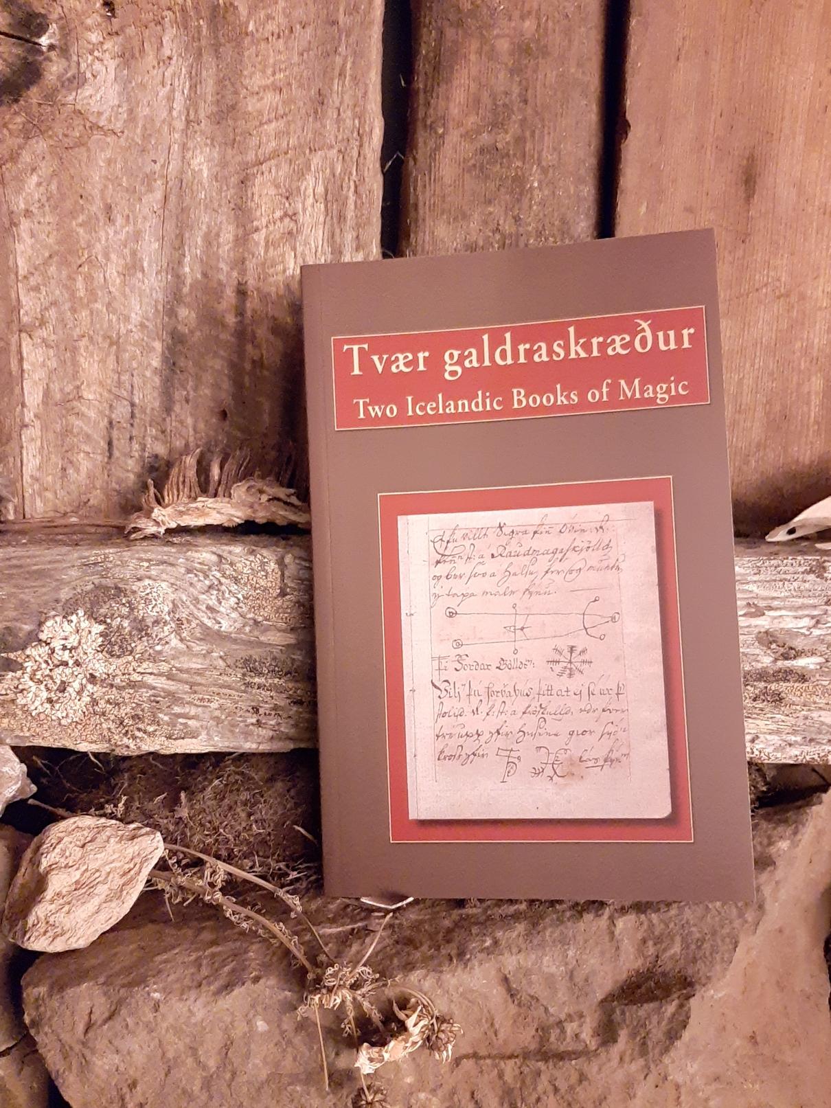 two icelandic books of magic
